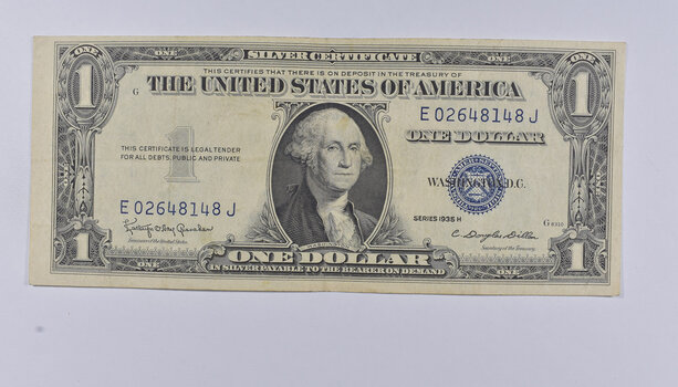 Crisp - 1935-H United States Dollar Currency $1.00 Silver Certificate