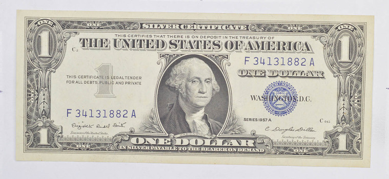 Crisp Unc 1957-A $1.00 Silver Certificate Notes - BRAND NEW US Dollar