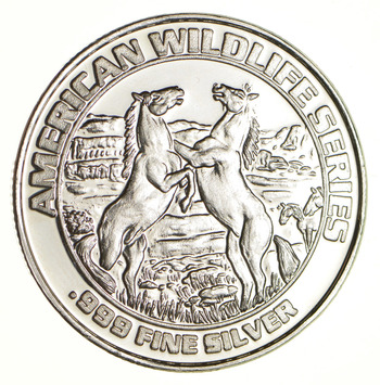 Deadwood South Dakota 20.5 Grams .999 Fine Silver Casino Token