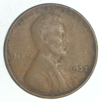 Depression Coinage - 1932 Lincoln Wheat Cent **Lower mintage