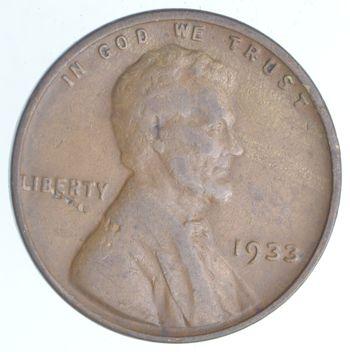 Depression Era 1933 Lincoln Wheat Cent