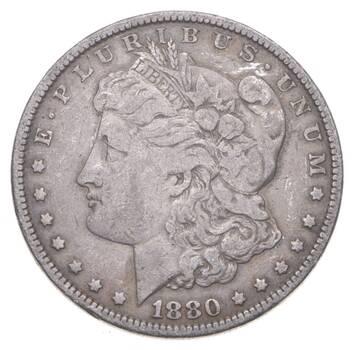 Early 1880 Morgan Silver Dollar - 90% US Coin
