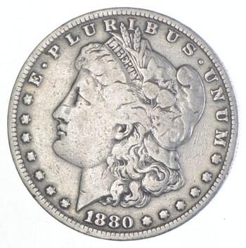 Early 1880-O Morgan Silver Dollar - 90% US Coin