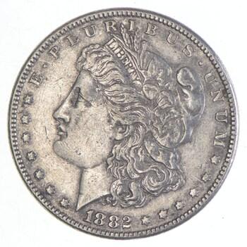 Early 1882 Morgan Silver Dollar - 90% US Coin