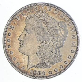 Early 1884 Morgan Silver Dollar - 90% US Coin