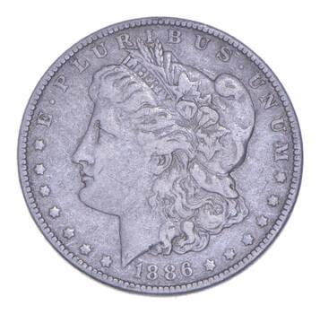 Early - 1886 Morgan Silver Dollar - 90% US Coin