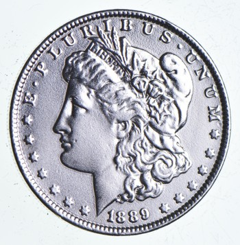 Early 1889 Morgan Silver Dollar - 90% US Coin