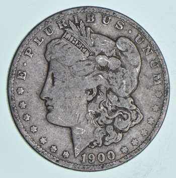Early 1900-O Morgan Silver Dollar - 90% US Coin