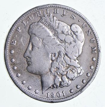Early 1901-O Morgan Silver Dollar - 90% US Coin