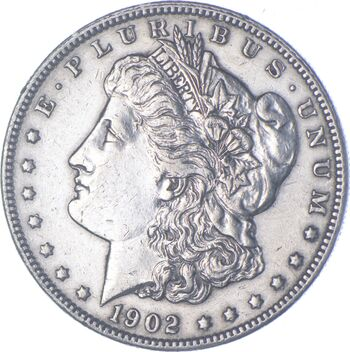 Early - 1902 Morgan Silver Dollar - 90% US Coin