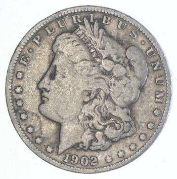 Early 1902-O Morgan Silver Dollar - 90% US Coin