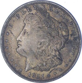 Early - 1921 Morgan Silver Dollar - 90% US Coin