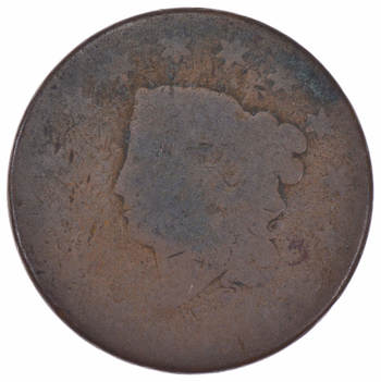 Early US Large Cent - Well worn & loved - History You Can Hold!