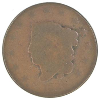 Early US Large Cent - Well worn & used- Damaged & Or Dateless