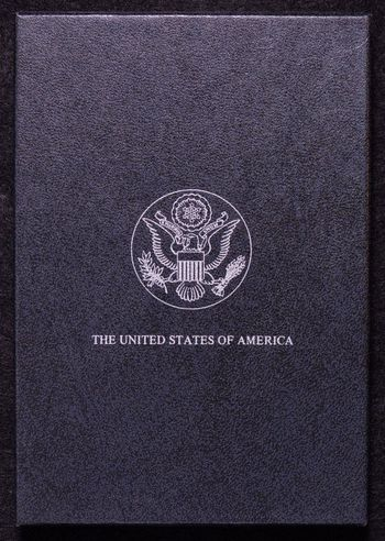Empty GSA Silver Dollar Display Box - From the FAMOUS GSA Silver Dollar Hoard