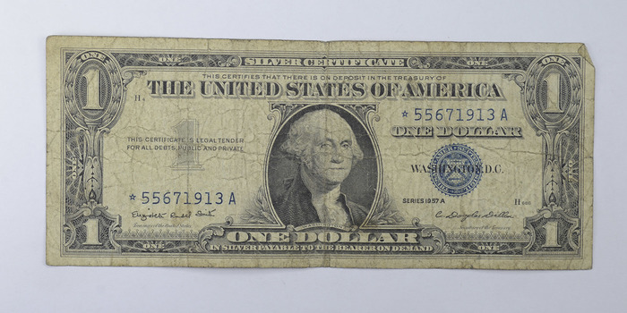 ERROR Replacement *Star* 1957-A $1.00 Silver Certificate Replacement Note - Tough