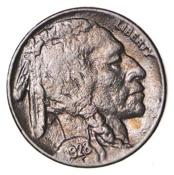 FULL HORN - High Grade - TOUGH - 1928 Buffalo Nickel - Sharp