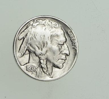 FULL HORN - High Grade - TOUGH - 1936-D Buffalo Nickel - Sharp Coin!