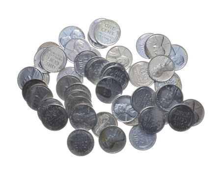 Historic Coin Collection - 1943 Steel Cents - Wartime