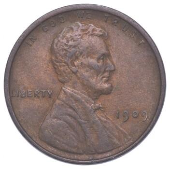 Gem Bu Unc 1909 VDB V.D.B. Lincoln Wheat Cent - First Year - Uncirculated