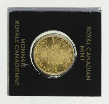 Gold Coin! - Royal Canadian Mint 1g PUR 9999 Fine Gold