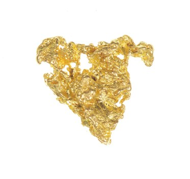 Gold Rush - Idaho Gold Nugget - Raw High Karat - 0.7 Grams Original Gold Form