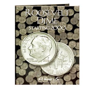 H.E. Harris Roosevelt Dimes #1 Folder Starting 2000 - Coin Collector Album