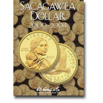 H.E. Harris Sacagawea Dollars Folder 2000-2004 - Coin Collector Album