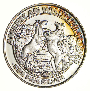 Historic Colorado Mining 20.3 Grams .999 Fine Silver Casino Token