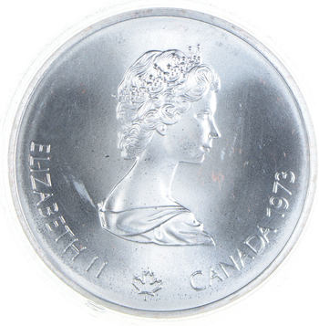 HUGE - 1.4454 T oz Pure Silver ASW- Olympic Canada Commemorative - Very Collectible