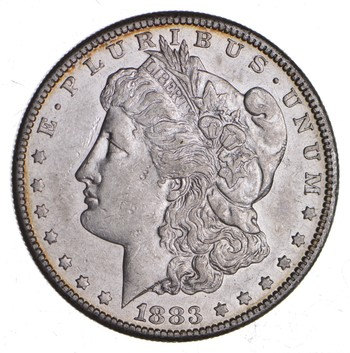 KEY DATE 1883-S Morgan Silver Dollar - RARE - Better Grade - Look at price guide!