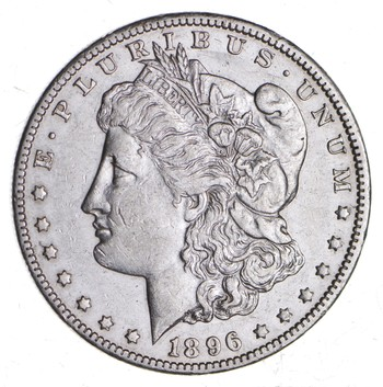 KEY DATE 1896-O Morgan Silver Dollar - RARE - Better Grade - Look at price guide!