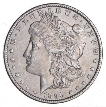 KEY DATE 1896-O Morgan Silver Dollar - RARE - Better Grade - Look at price guide!