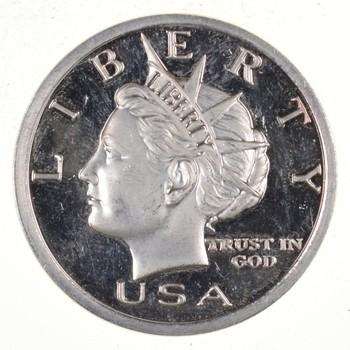 Limited - 1 Troy Oz Silver 2005 Liberty Head Pattern Round - .999 Fine Silver