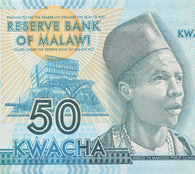 Limited Edition African Reserve Bank Of Malawi Fifty Kwacha Note - Uncirculated Foreign Collectable Note