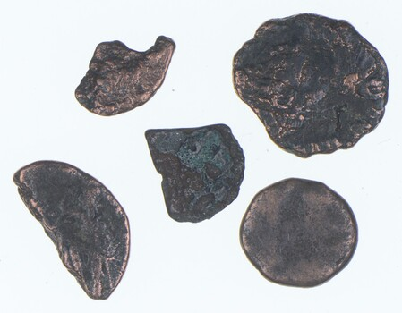 Lot Authentic Roman Ancient Coins - Collection 1500 years old! Set of 5