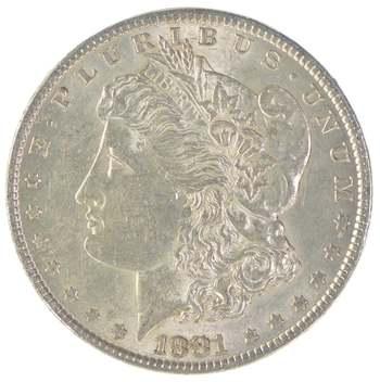 Lustrous - High Grade 1881 Morgan Silver Dollar
