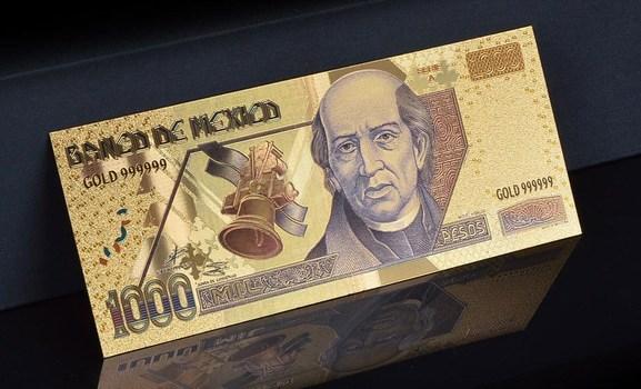 Mexico 1000 Pesos Nice Detail- Replica Bank Note