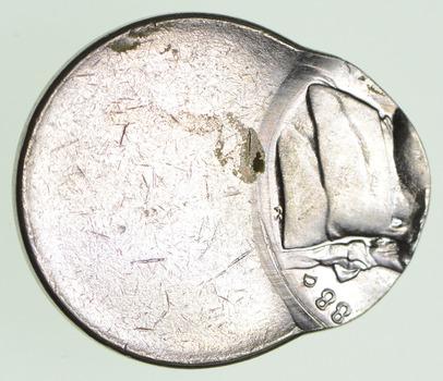 Mint Error 1988-D Jefferson Nickel - Struck Off-Center - Circulated