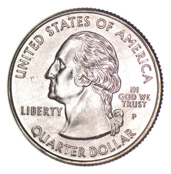 Mint ERROR - DIE Crack -1999 Connecticut State Quarter - Collectible!
