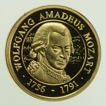 Mozart 1.5 Grams GOLD!