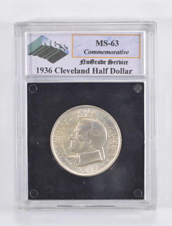 MS63 1936 Cleveland Commemorative Half Dollar - Graded NGS