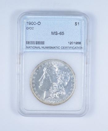 MS65 1900-O Morgan Silver Dollar - Graded NNC