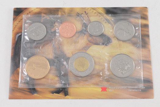 Nice! - 2001 Canada Uncirculated 7 World Coin Set