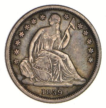 No Reserve - 1839-O Seated Liberty Dime RARE