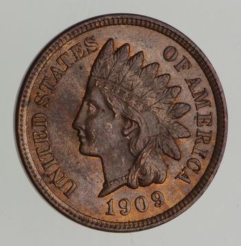 No Reserve - 1909 Indian Head Cent - Rare