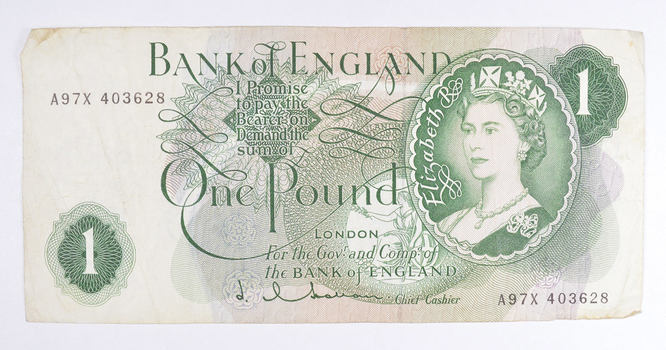 Old English Paper Money - Bank of England