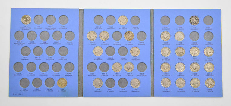 Partial 1913-1938 Buffalo Nickel Set US Coin Collection - Nice Lot!