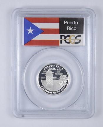 PR69 DCAM 2009-S Puerto Rico Silver Quarter - Graded PCGS