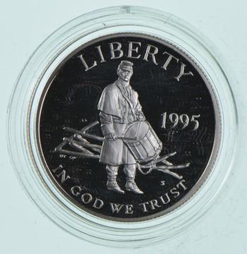 PROOF 1995-S Civil War Battlefield Preservation - United States Mint HALF DOLLAR Commemorative